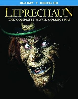 Leprechaun COMPLETE MOVIE COLLECTION Blu-ray Set All 7 Films Horror Scary Davis](Leprechaun Scary)