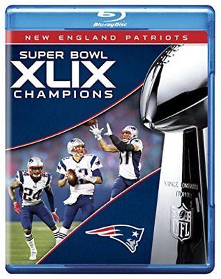 NFL Super Bowl Champions XLIX: New England Patriots [Blu-ray] NEW!