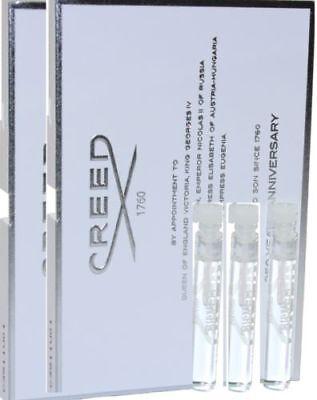 3 X Creed Silver Mountain Water 0 08 Fl Oz   2 5 Ml Edp Spray Vials