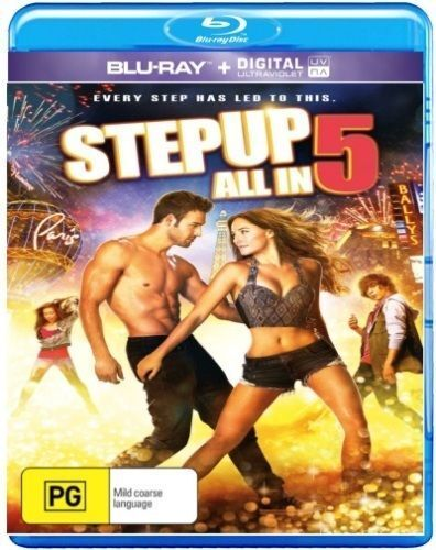 Step Up All In (Blu-ray / UV) NEW