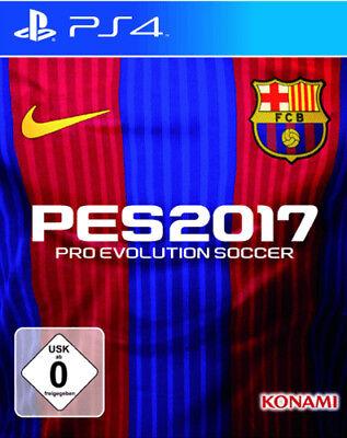 PS4 Spiel PES 2017 FC Barcelona Steelbook Edition Pro Evolution Soccer 17 NEU