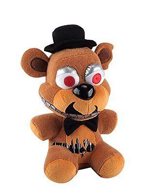 New Authentic Five Nights At Freddys Nightmare Freddy 8  Plush Stuffed Fnaf