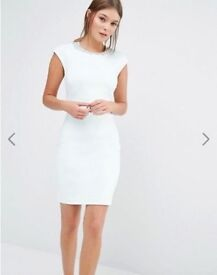 TED BAKER MINT BETIANA EMBELLISHED BODYCON DRESS UK SIZE 14 TED BAKER SIZE 4 RRP £139