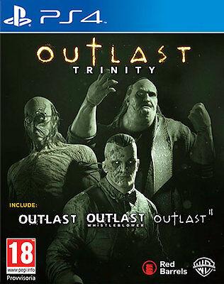 Outlast Trinity - PS4 ITA - NUOVO SIGILLATO [PS40562]