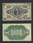 10 Cent US Paper Money