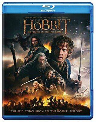 The Hobbit The Battle of the Five Armies Blu-ray + Downloadable Digital HD