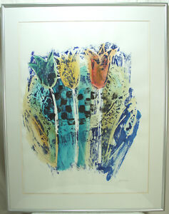 Large Framed Original Watercolour By O Hara