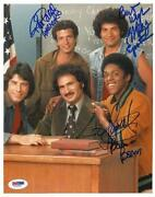 Welcome Back Kotter Signed