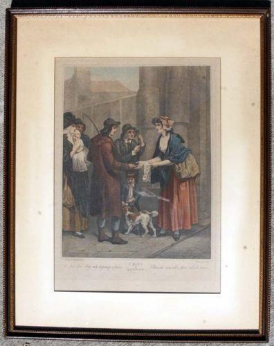 Cries Of London Prints Ebay