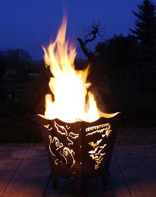 Feuerkorb Stahl  Geisterstunde Halloween Qualität Made in (Geist Halloween Stunden)