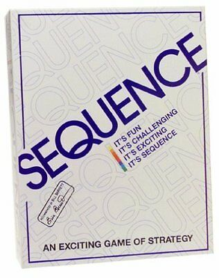 Sequence Game by Jax - Strategy Board Game New, Free Expedited Shipping No Tax