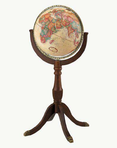 Replogle Sherbrooke II Floor Globe, Antique