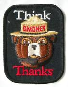 Vintage Smokey The Bear