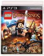 Lego Lord of The Rings PS3