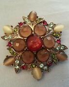 Vintage Star Brooch