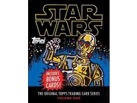 star wars topps book inc cards brand new