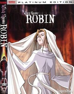 Witch Hunter Robin collector's anime bundle tshirt cels glass Cambridge Kitchener Area image 2