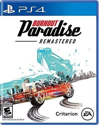 Used, BURNOUT PARADISE REMASTERED PS4! RACE RACING CARS, DRIVE, NEED FOR SPEED for sale  Shipping to Nigeria