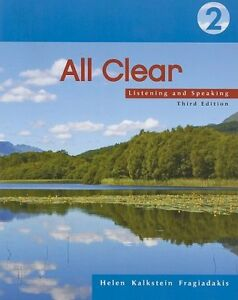 Used All Clear 2: Listening and Speaking Book North Shore Greater Vancouver Area image 1