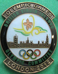 LONDON-12-Olympic-BRITISH-VIRGIN-ISLANDS-NOC-Internal-team-delegation-t-pin