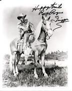 Roy Rogers Autograph
