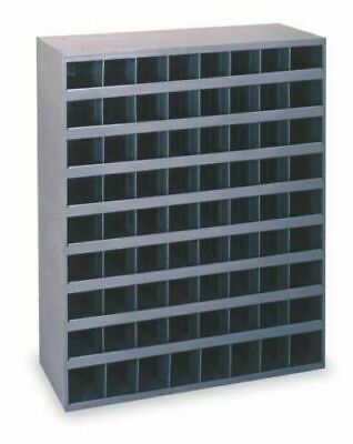 Metal 72 Hole Storage Bolt Bin Cabinet Compartment Nuts Bolts Fasteners Screws