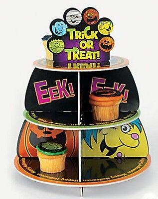 Halloween Fun Friendly Monsters Cupcake Holder