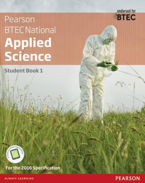 BTEC Nationals Applied Science: Student Book Level 3 (BTEC Nationals... NEW BOOK