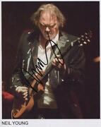 Neil Young Signed