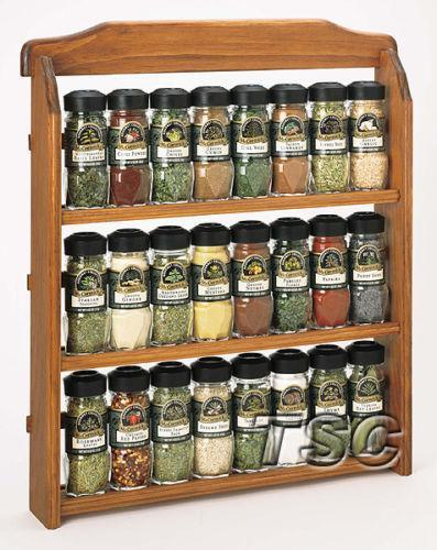 wall spice rack spice racks ikea wooden wall hanging amp silver ebay 31611