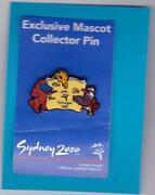 Sydney 2000 Olympic Pins