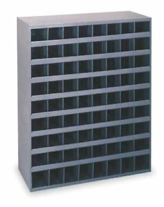 Metal 72 Hole Storage Bolt Bin Cabinet Compartment Nuts Bolts Fasteners S