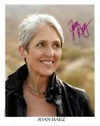Joan Baez Signed