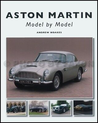 Aston Martin Model by Model - 1912-2011 Illustrated History Book Lagoonda DB