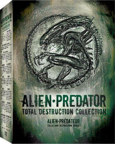 Alien Predator Total Destruction Collection DVD box set