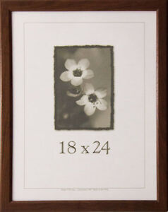 18 x 24 wood picture frame w plexi glass made in the usa for 18x24 window