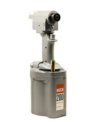 Huck 200 Double Action Pneumatic Rivet Gun Tool Refurbished 1 Year Warranty