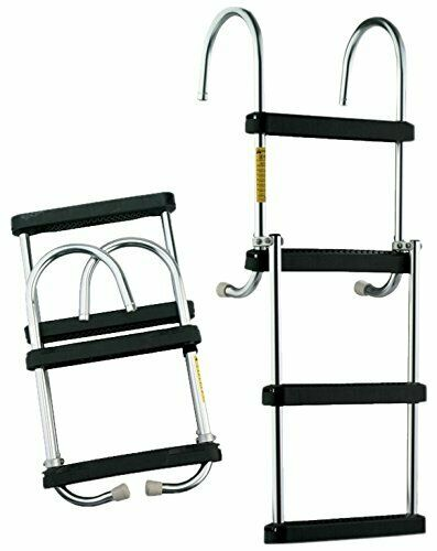 Garelick 12350-21 Folding Pontoon Ladder
