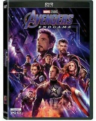 Avengers: Endgame (DVD, 2019) New & Sealed Free Shipping US Seller
