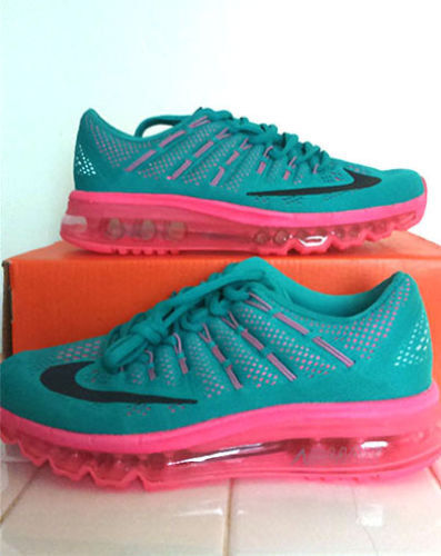 dcfhz Ladies Nike Air Max 2016 Trainers Size Uk 6 EU 40 New! | in