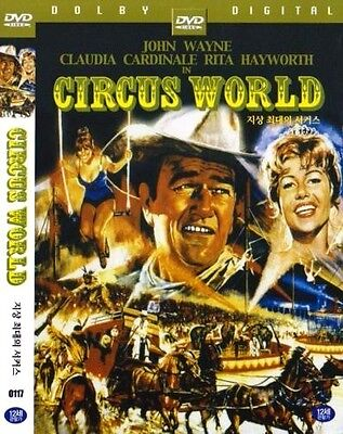 Circus World  1964  New Sealed Dvd John Wayne