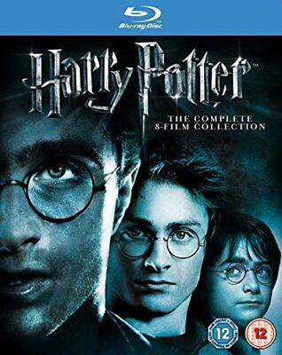 Harry Potter - Complete 8-Film Collection  (2011) Daniel RadcliffeBlu-ray