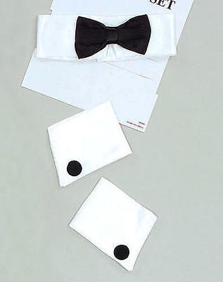 Male Stripper Kit Chippendale Fancy Dress Costume Cuffs & Bowtie Magic - Magic Mike Kostüm