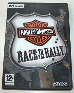 Harley Davidson Race to the Rally PC Game London Ontario image 1