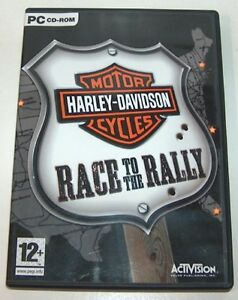 Harley Davidson Race to the Rally PC Game