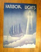 Harbor Lights Sheet Music