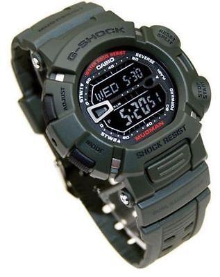 Casio Original G-9000-3V Green G-Shock Men's Watch  Resin Band New Mudman G-9000 comprar usado  Enviando para Brazil