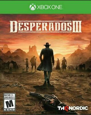 Desperados 3 III Xbox One Brand New Sealed