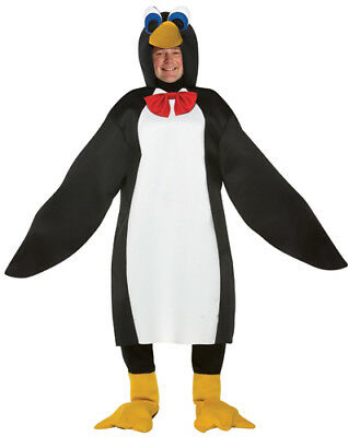 Penguin with Red Bow Tie Adult Plus Size Halloween - Plus Size Penguin Costume