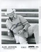 Alan Jackson Autograph